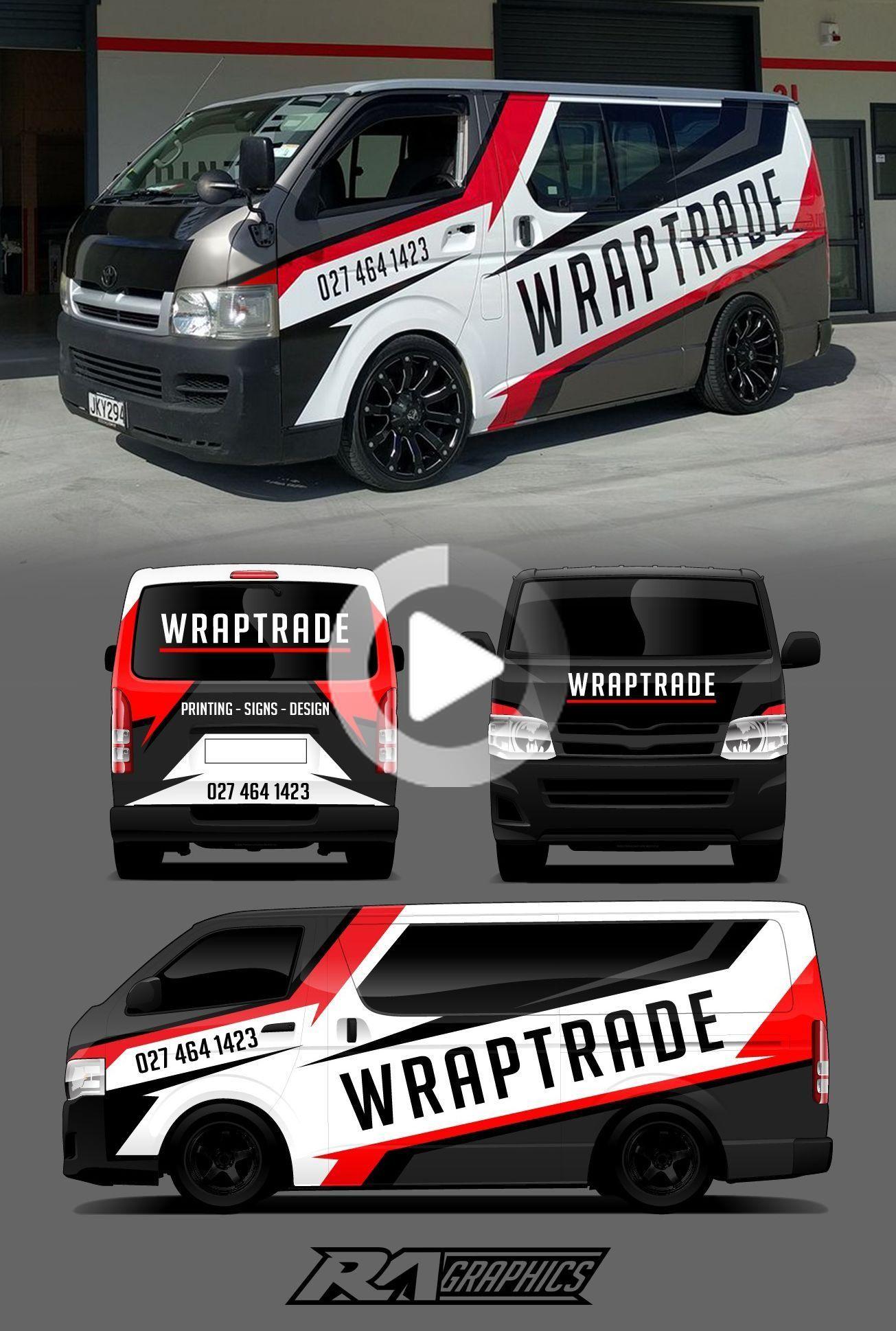 Ra Graphics Van Wrap Design Van Signage Vehicle Signage Van Wrap [ 1938 x 1305 Pixel ]