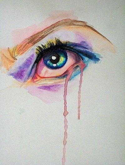 water color eye images | Watercolor Eye by dangerbearstore on Etsy