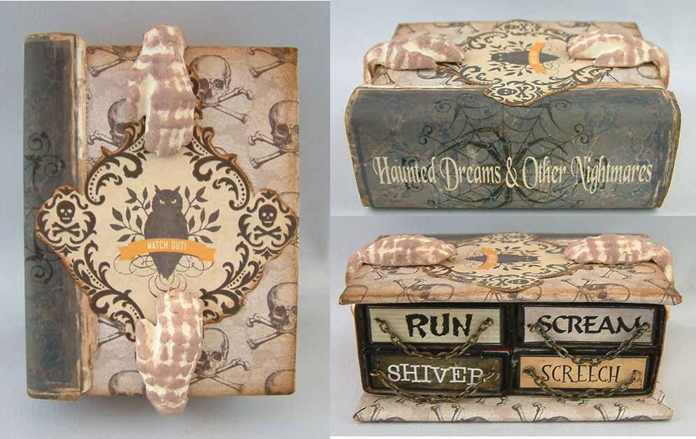Haunted Dreams and Other Nightmares  Book with 4 matchboxes Inside