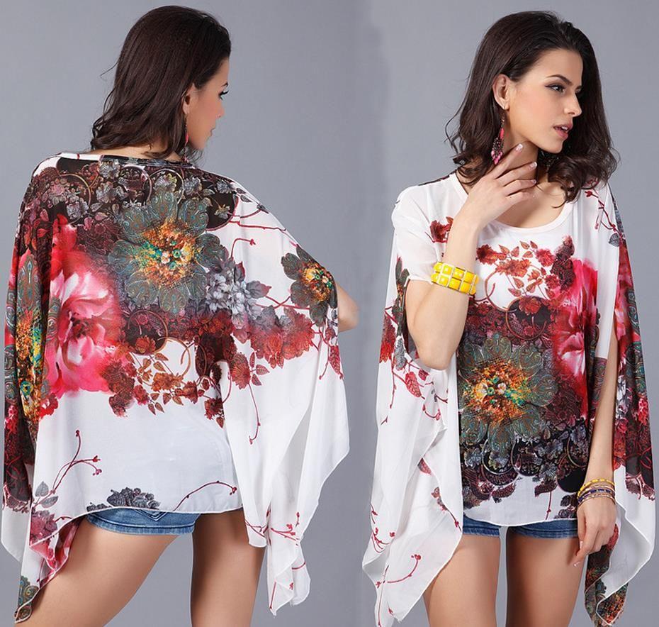 CHICEVER Lantern Sleeve Striped Blouses Shirt  Spring Fold
