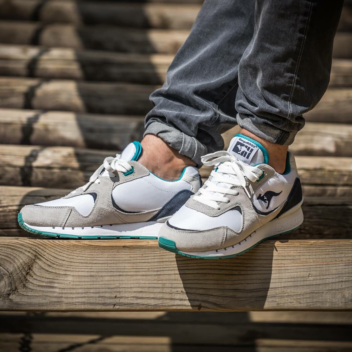 Womens Kangaroos Coil - Trainers - Multicolor OG68976