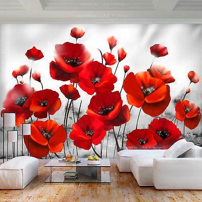 Finden Sie Top Angebote Fur Vlies Fototapete Blumen Mohnblume Rot 3d Effekt Tapete Wohnzimmer Wandbilder Xxl Bei In 2020 Fototapete Blumen Fototapete Tapete Wohnzimmer