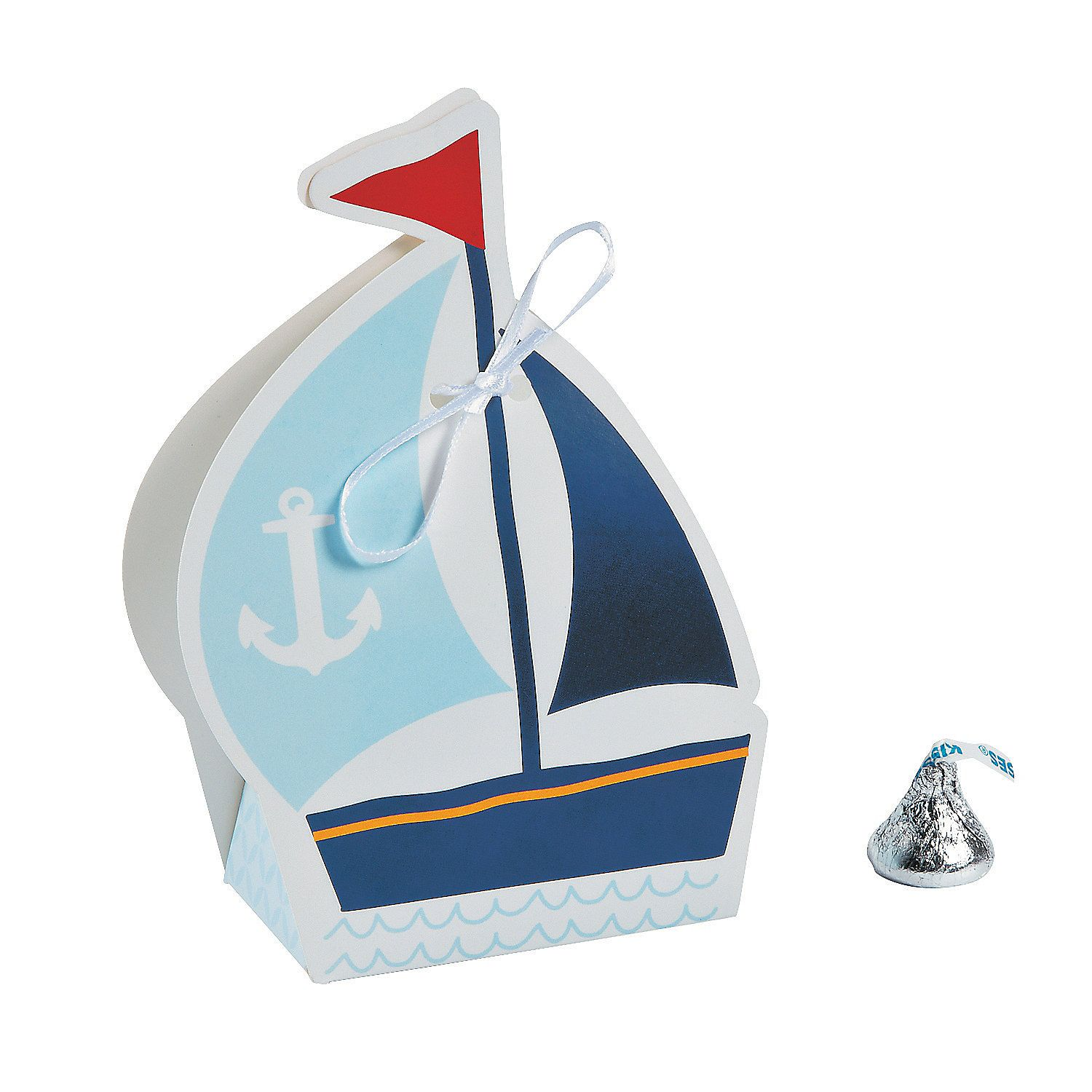 Nautical Favor Boxes | Nautical favors, Favors and Shower favors