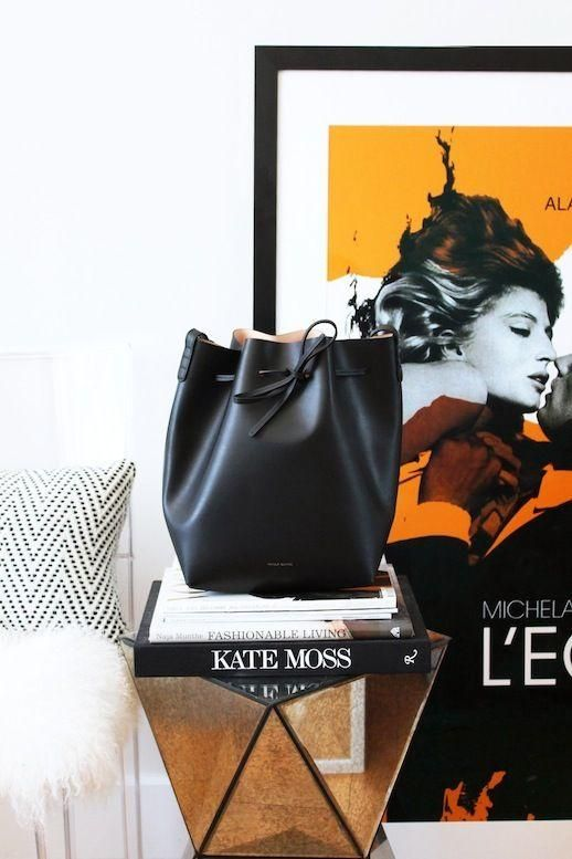 Mansur Gavriel, Kate Moss and chic decor #livinginstyle