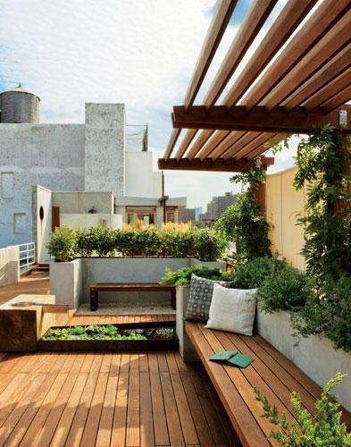 East terrace rooftop garden Home Decor that I love Pinterest