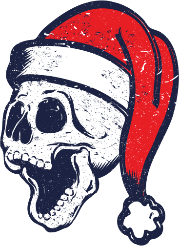 Christmas Skull And Crossbones Clipart 1834503 Pinclipart Free Png Archive Christmas Party Venues Cartoon Clip Art Skull