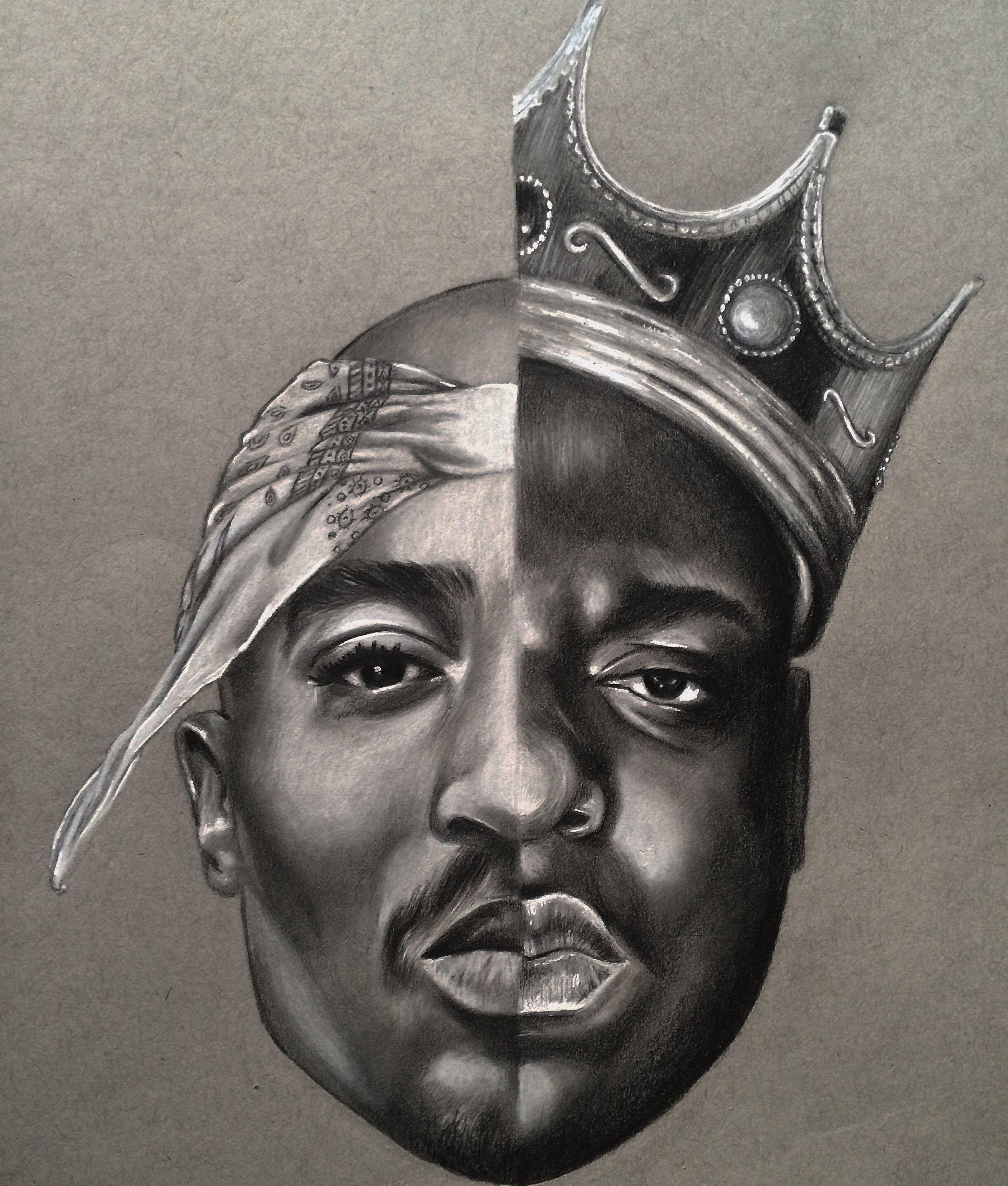 Tupac / Biggie Rap, Tatuagem