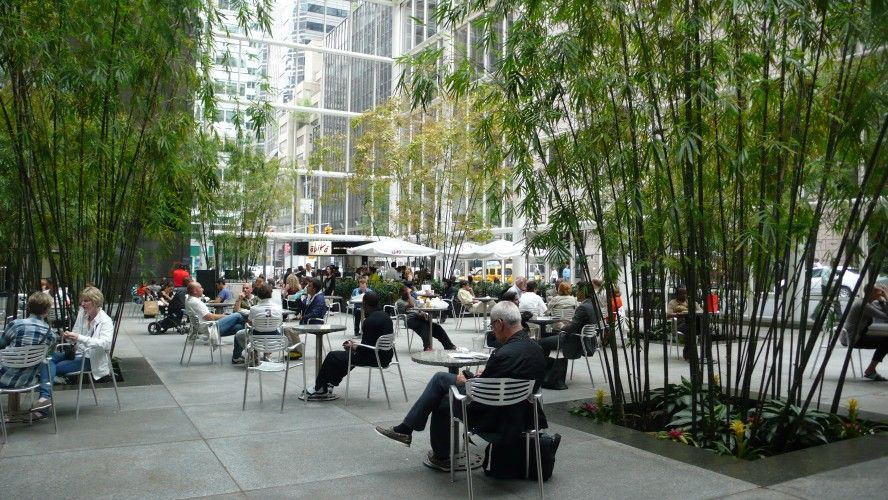 590 Madison Ave Public Space Winter Garden Sustainable City