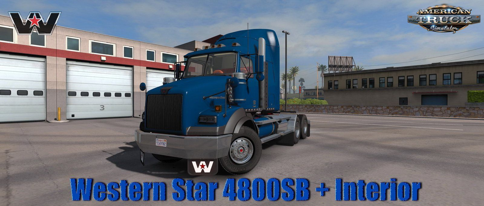 Western Star 4800sb Interior V1 0 1 35 X For Ats With Images