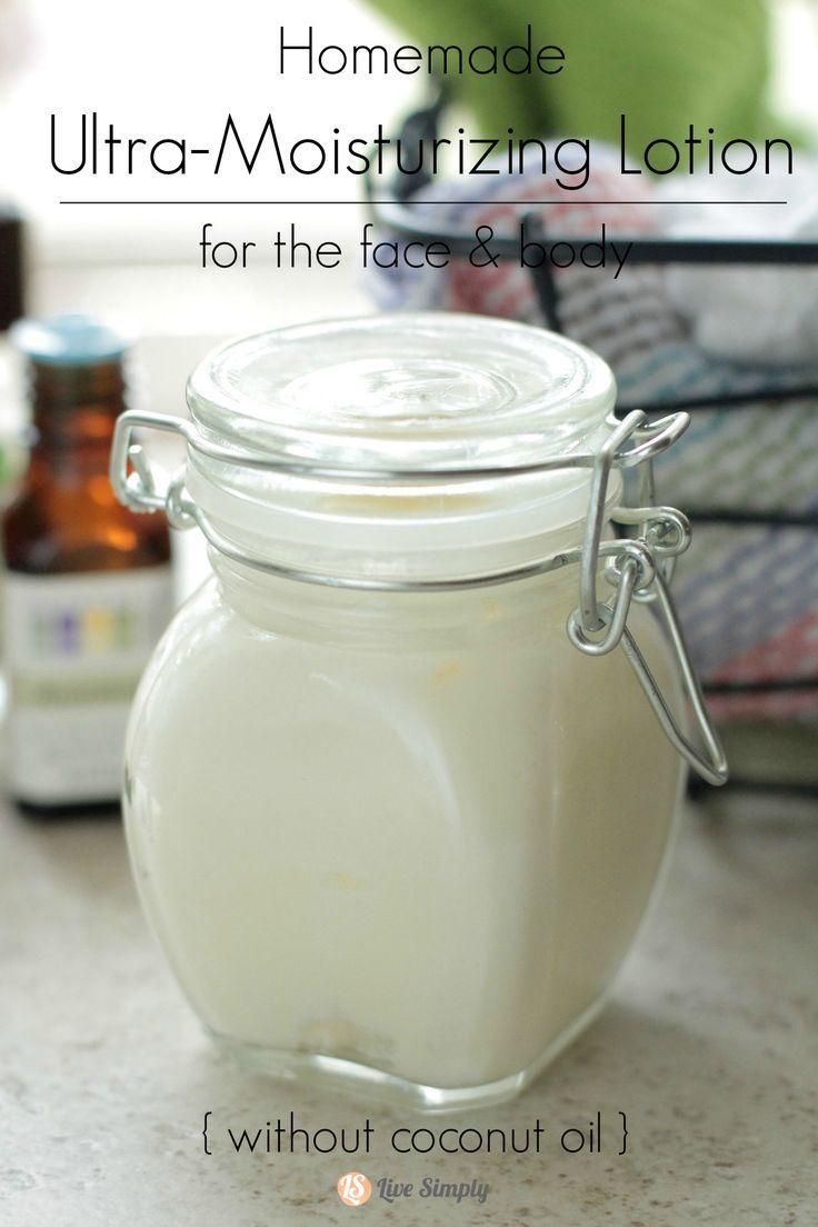 Moisturizer facial coconut recipe
