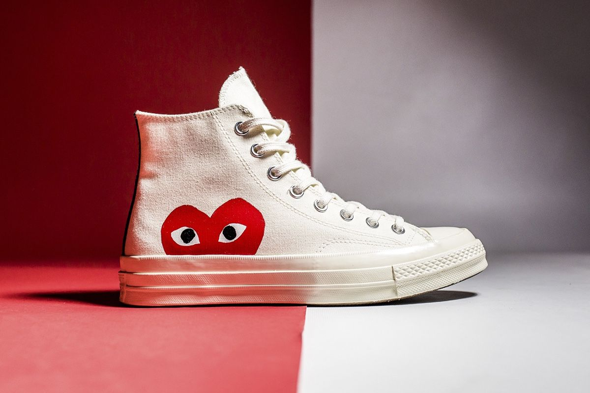 5f3c74059efb The COMME des GARÇONS x Converse Chuck Taylors Return Just in Time for  Summer