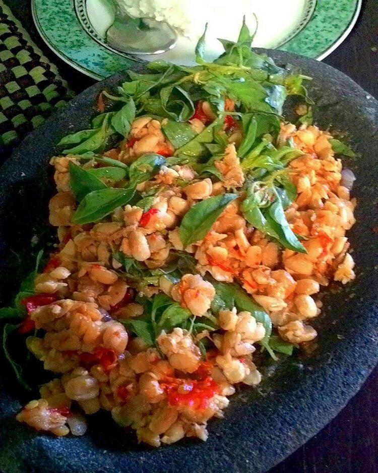 Sambel Tempe Kencur Kemangi Resep Resep Masakan Resep Makanan