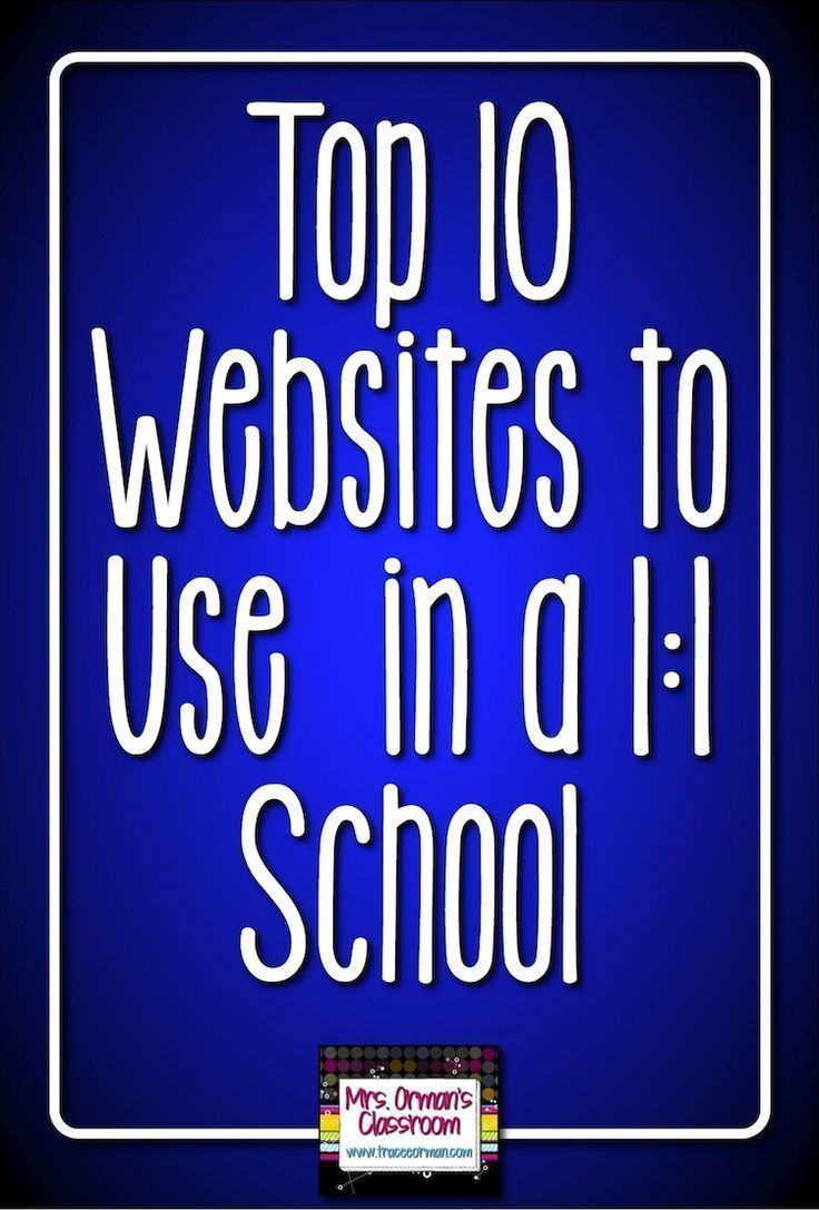 Top 10 Websites to Use in the 1:1 Classroom | ***All things ...
