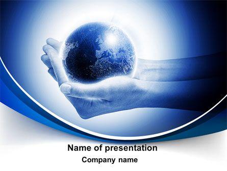 Httppptstarpowerpointtemplateglobe In Hands Globe In