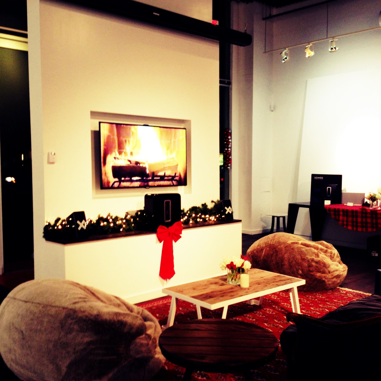 Sitting Areas With Hi Def Yule Log Home Decor Decor Sitting Area