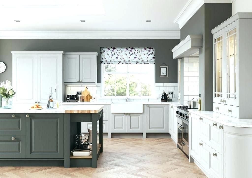 light grey white walls white cabinets grey walls gray ...