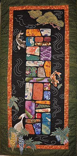 Asian quilt style
