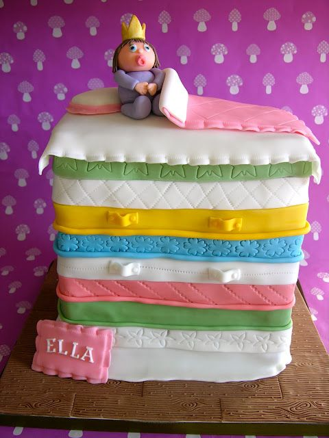 The Princess and the Pea...in cake form :)