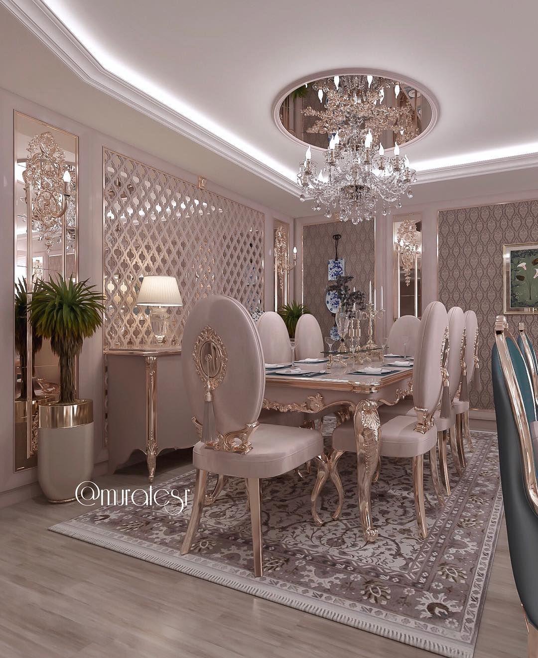 35 Luxury Dining Room Design Ideas: Luxury Dining Room, Luxury Living