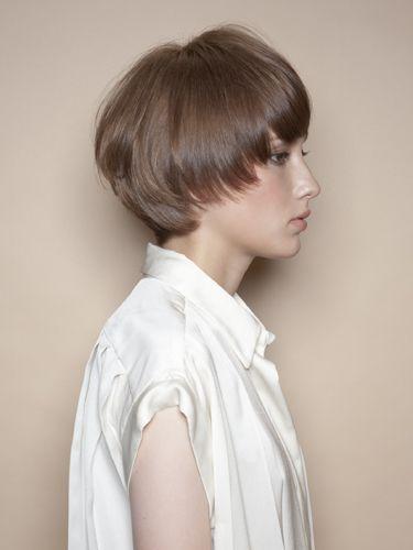 マッシュボブ ショート 短い髪のためのヘアスタイル ボーイズヘア