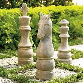 I need these to go with my alice in wonderland statues for the garden garden spaces for Alice in wonderland garden statues