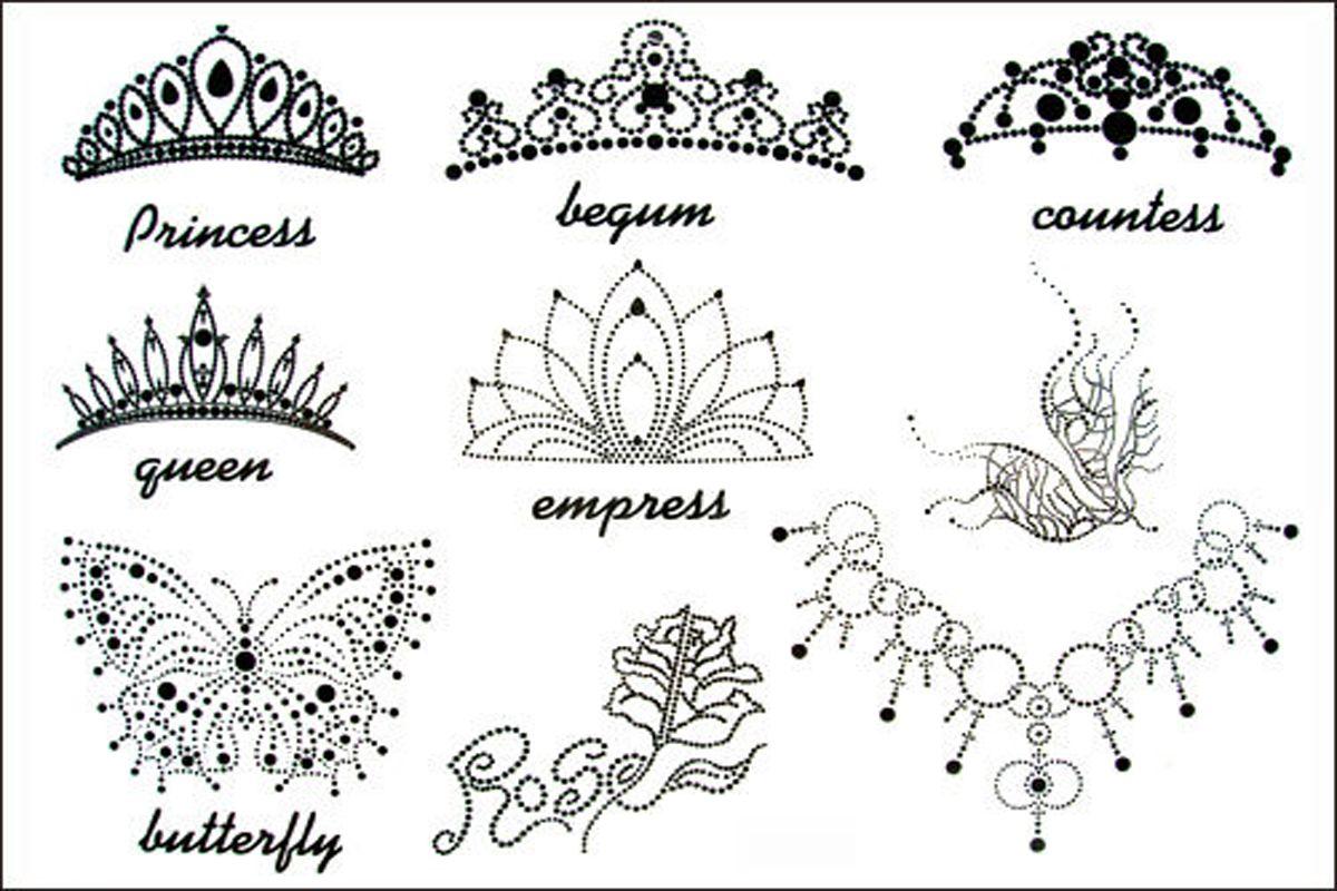tribal crown tattoo designs view more tattoo images under crown rh pinterest co uk tiara princess crown tattoos disney princess tiara tattoo