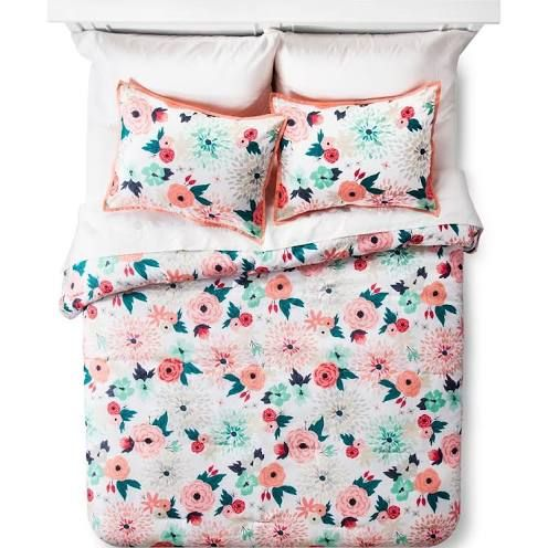 Target Twin Girl Bedding Comforter Sets Girl Comforters Floral Comforter Sets