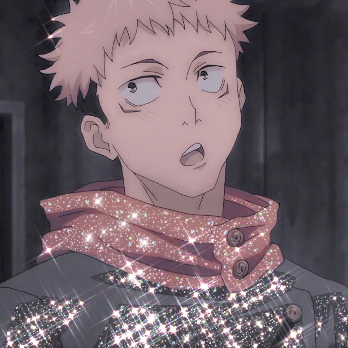 Jujutsu Kaisen Itadori Yuuji Icon Anime Guys Jujutsu Anime