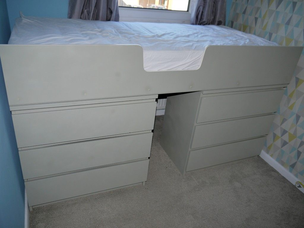 Ikea malm drawer hack to single bed kambaris pinterest bed