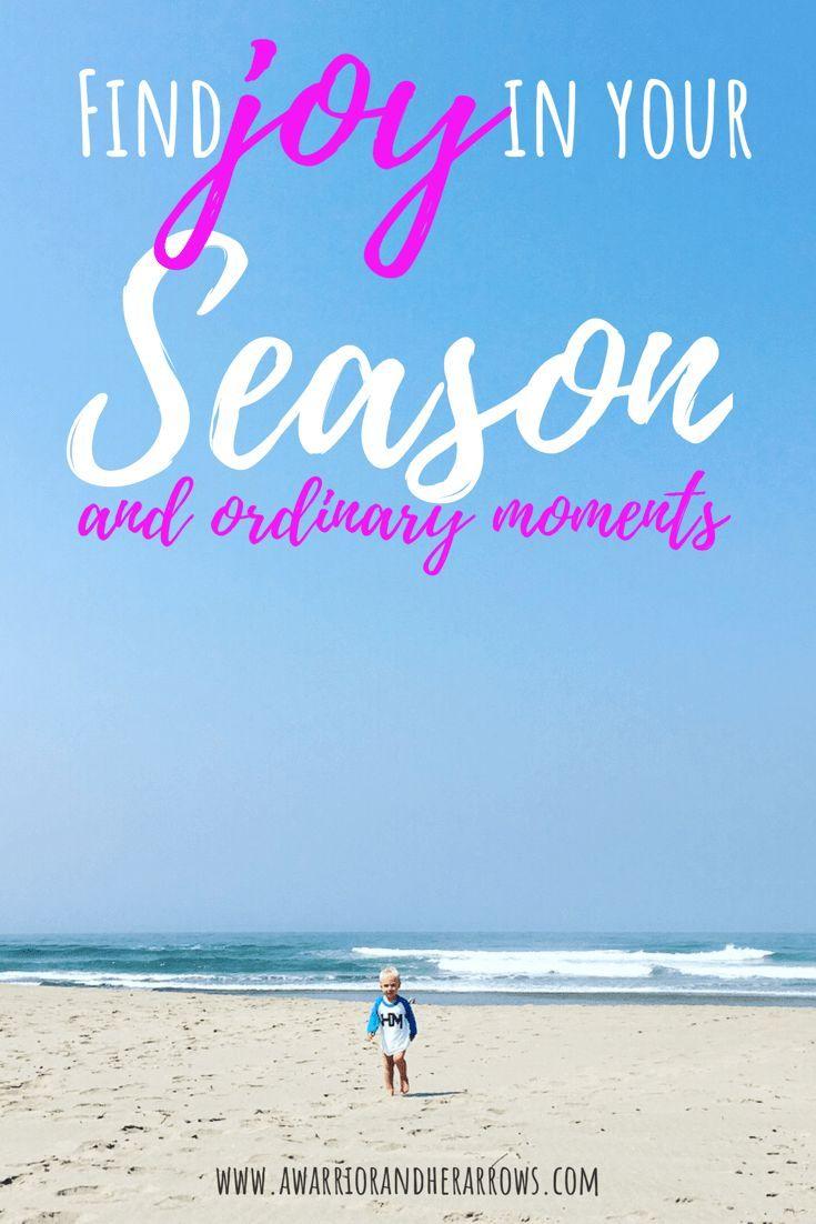 not so ordinary moments Choosing Joy