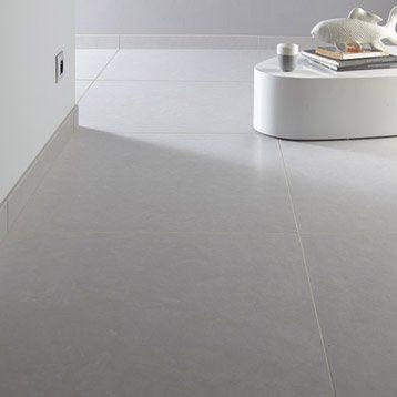 Carrelage Sol Et Mur Fer Blanc Effet Beton Studio L 75 X L 75 Cm