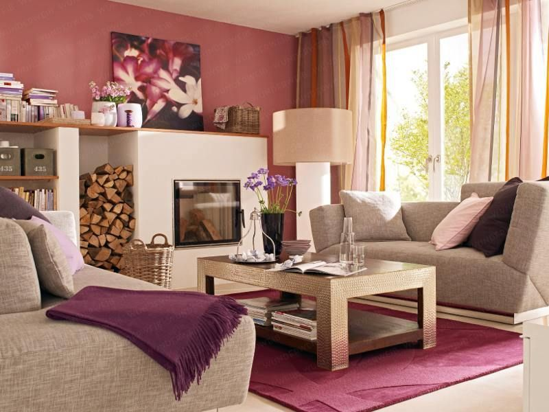 Moderne Wohnzimmer Farben Wohnzimmer Farben Beige Braun moderne ...