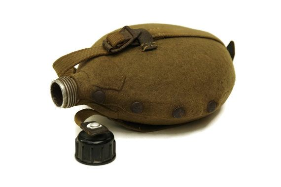 Amazon.com : Soviet Russian Ussr Army Flask Military Water Canteen ...
