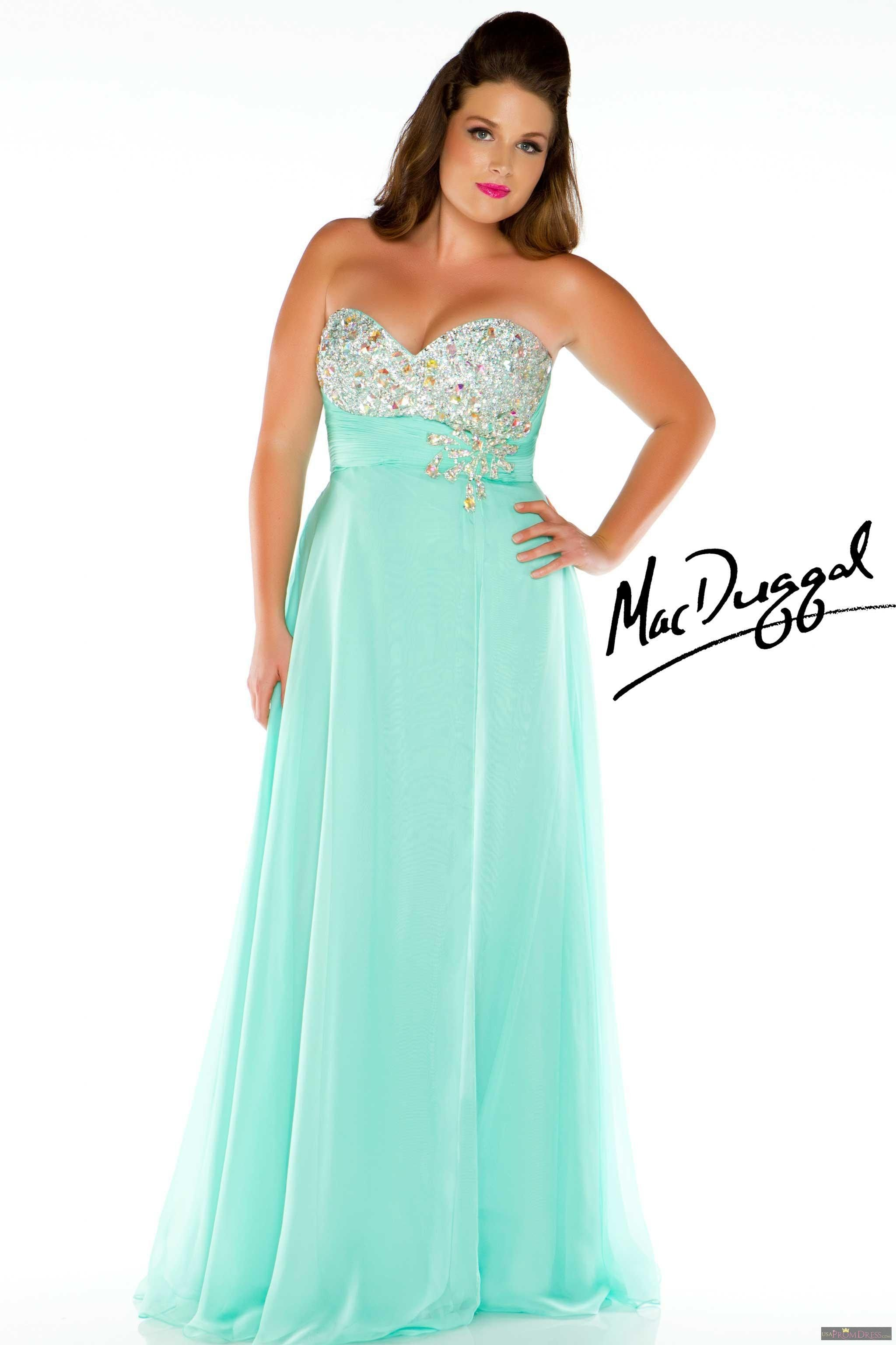 Mac Duggal Style 7268K - Contemporary meets elegant lines in this ...