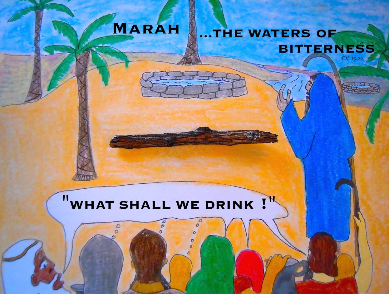 Marah The Waters Of Bitterness