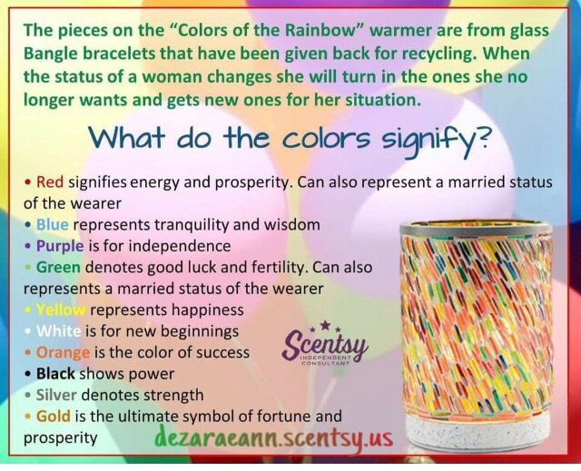 Colors Of The Rainbow Has A Story To Share My Scentsy