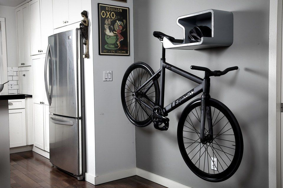 20 Very Cool Bike Storage Ideas Bicycle Wall Mount Bike Hanger