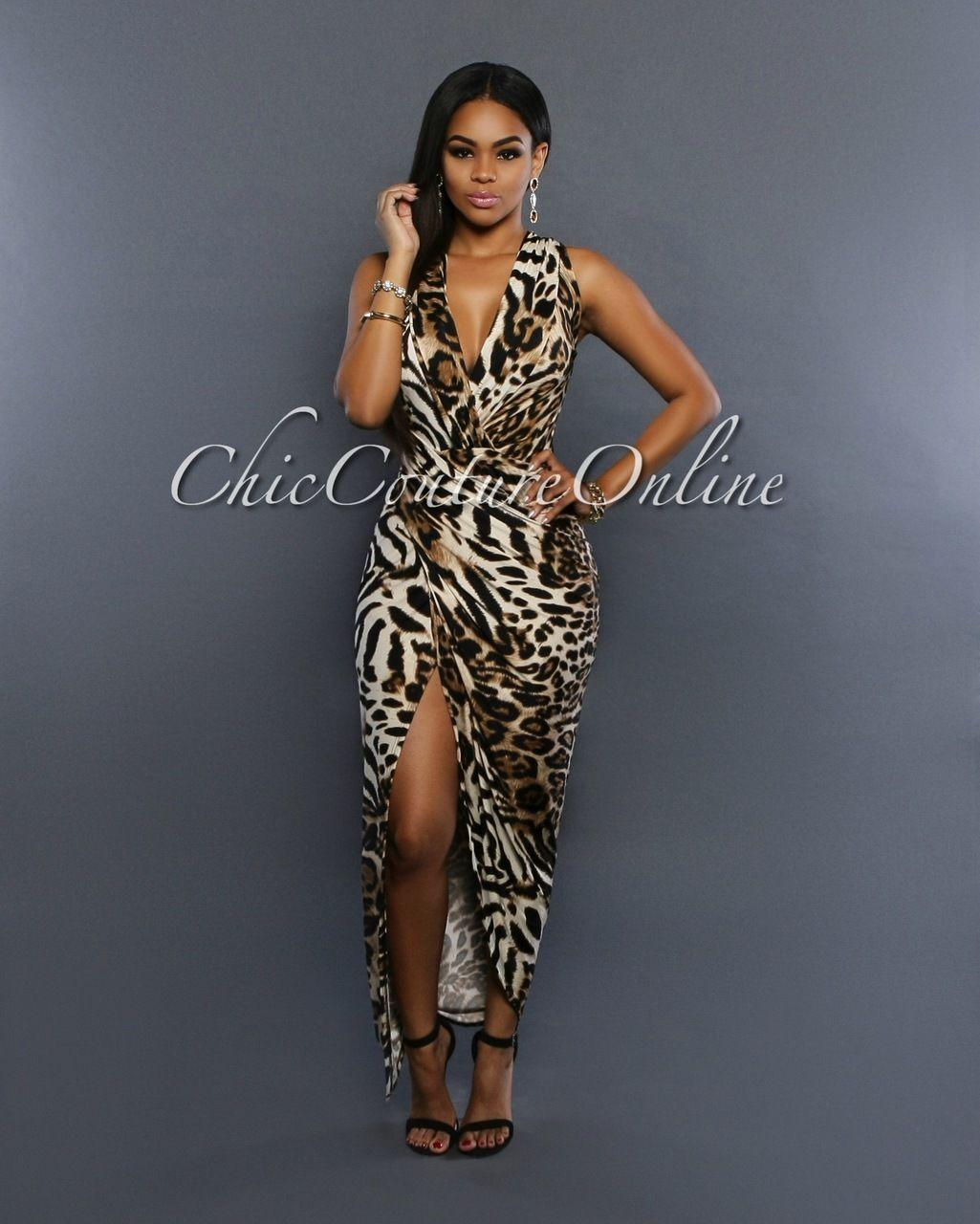 Draped Sleeveless Dress