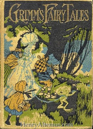 Vintage Grimms Fairy Tales Book