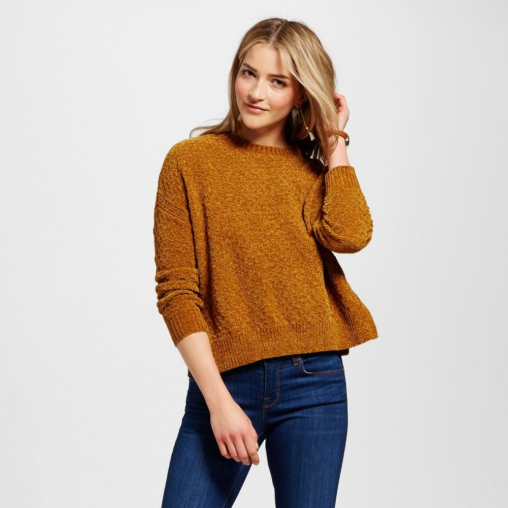 Women's Pullover Sweaters - Merona Gold Xxl | Pullover and Products