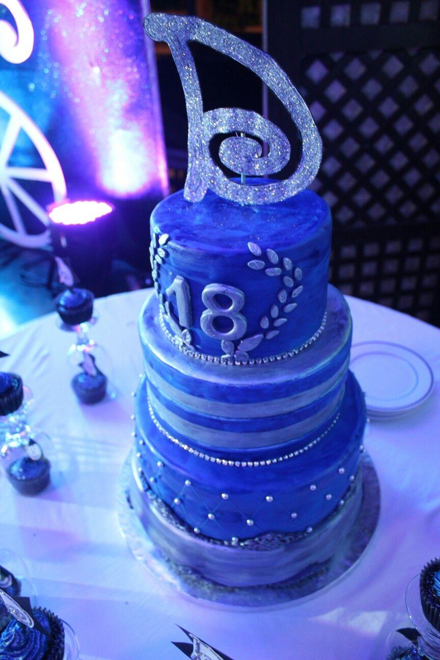Dazzlingdjennise Cake Design Ideas Debut Starrynight Theme