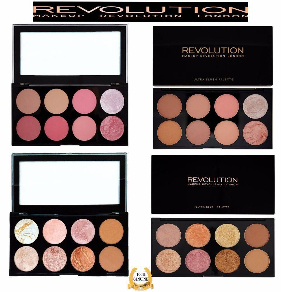 MAKEUP REVOLUTION Blush Highlight Bronzer Contour Powder