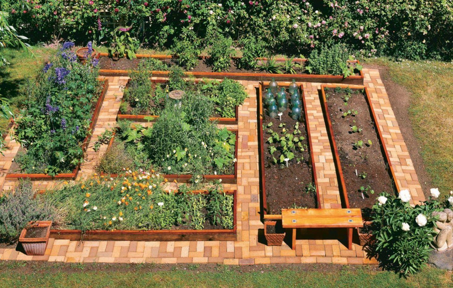 Affordable Backyard Vegetable Garden Designs Ideas 32 Garden Layout Vegetable Garden Raised Beds Garden Layout Vegetable