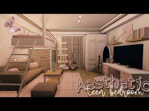 Photo of ROBLOX BLOXBURG: Aesthetic Teen Bedroom   speedbuild ♡