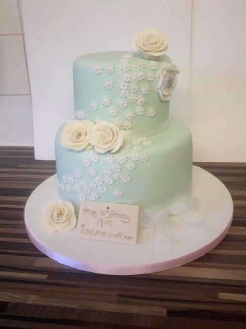 70th Birthday Cake Order Xx