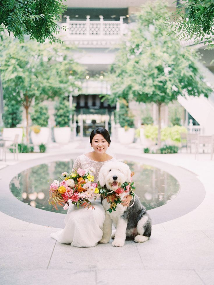 Pin On Crescent Court: A Colorful Fall Wedding At Hotel Crescent Court Complete With The Cutest Flower Girl