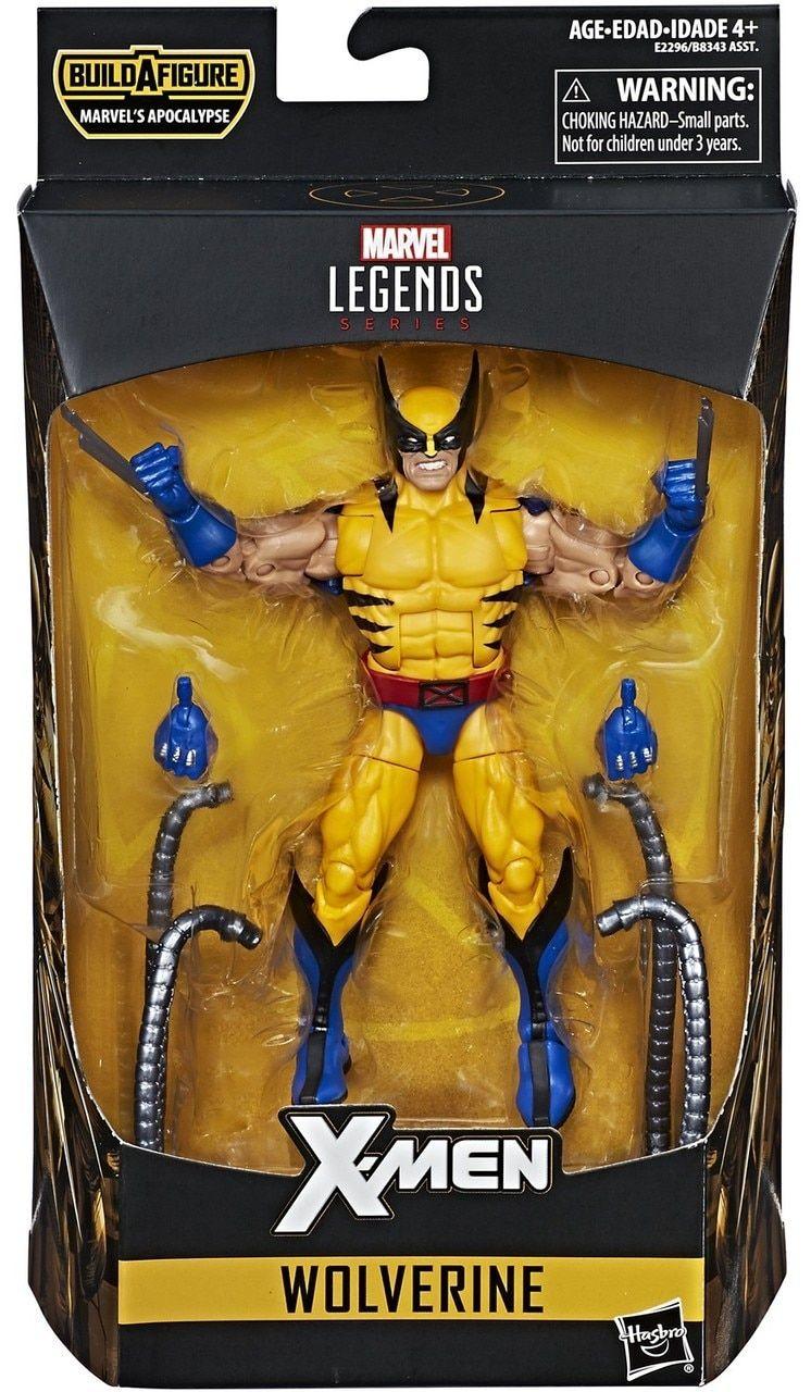 Hasbro Marvel Legends Xmen MULTIPLE MAN Apocalypse Build A Figure BAF Wolverine