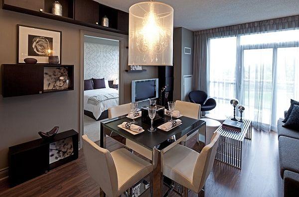 Idées Pour Aménager Votre Salle à Manger Dans Un Petit Espace - Decoration pour table de salle a manger