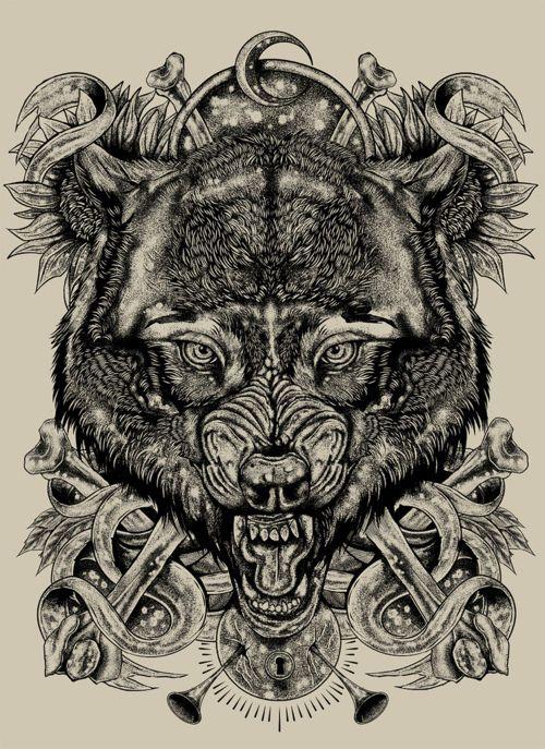 Пин от пользователя Caio V. на доске wolves Татуировки