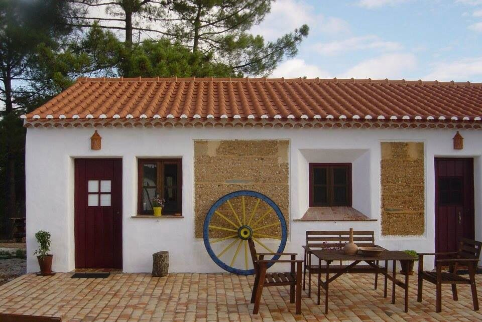 Typical small house in the country Alentejo Portugal